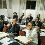 כיתת הסמיכה בסניף מכון למען ילמדו בירושלים